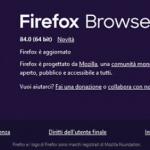 Firefox 84 e problemi con la firma digitale: ecco come risolvere